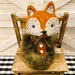 Adorable Fall Fox Decoration